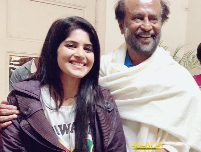 Petta Rajinikanth Megha Akash Join Crew On Shoot Trisha Vijay Sethupathi