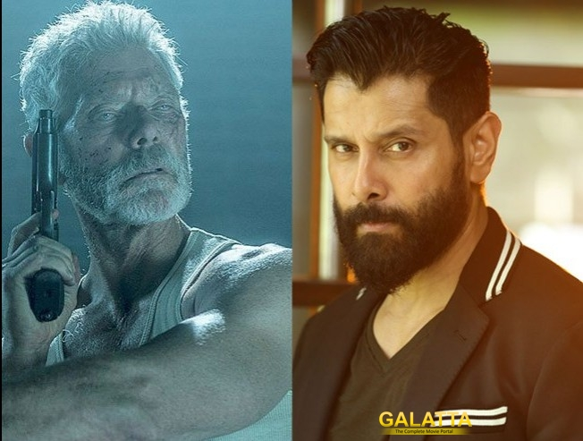 Don't Breathe Tamil remake with Vikram?
