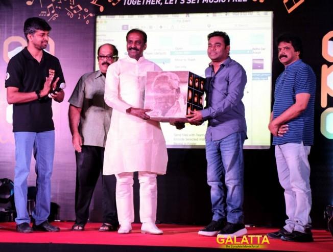 AR Rahman launches Karky's DooPaaDoo