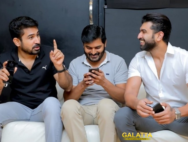 Arya and Vijay Antony to release Srikanth Mirugaa teaser - Movie Cinema News