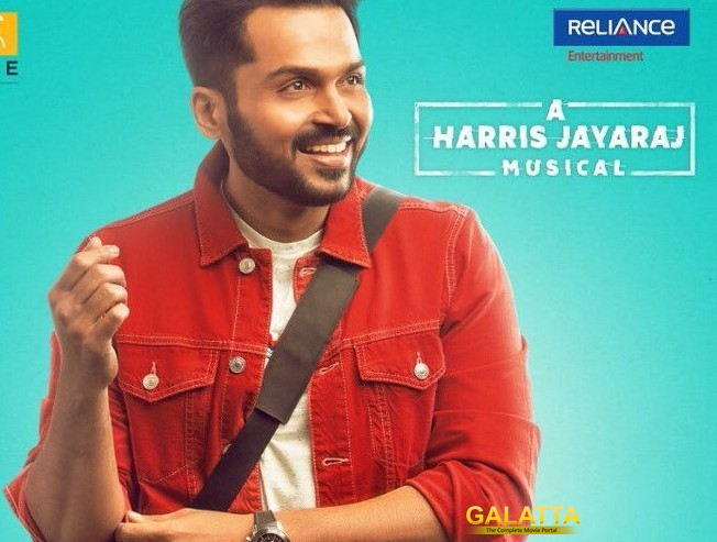 Karthi Dev Songs Update Harris Jayaraj Album Benny Dayal