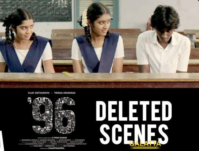 96 Movie Deleted Scenes Released Official Watch Video Trisha Vijay Sethupathi Gowri