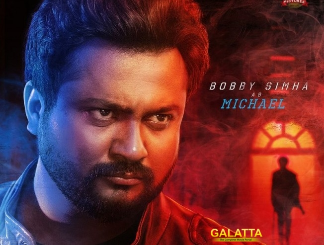 Bobby Simha As Micheal In Rajinikanth Petta Movie Character Poster Released