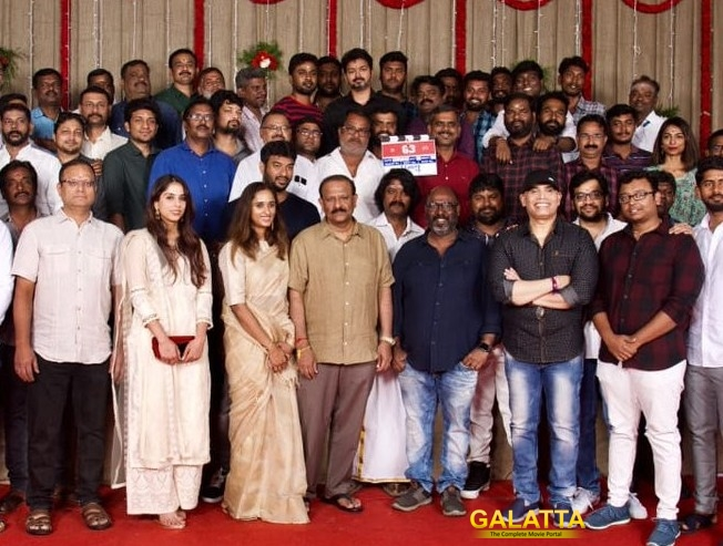 Thalapathy 63 Villains Daniel Balaji Anand Raj Cast Details Vijay Atlee