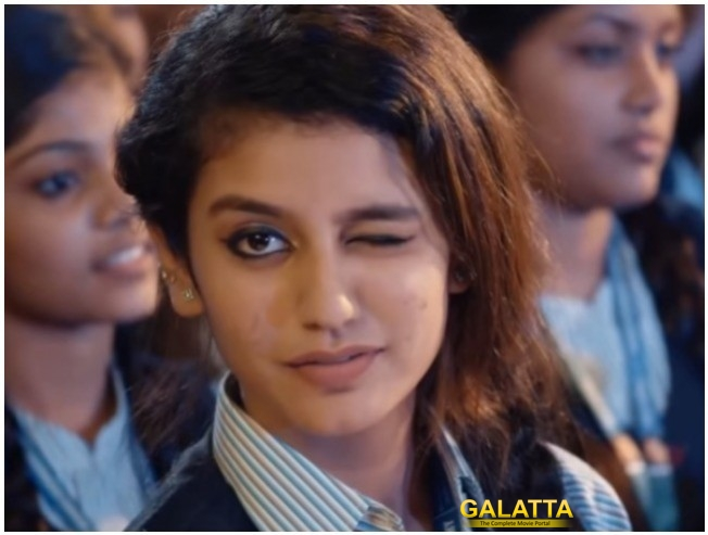 Priya Prakash Varrier Oru Adaar Love Fame Is Now New Internet Sensation