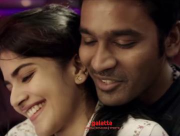 ENPT video songs Dhanush Megha Akash Gautham Menon - Tamil Movie Cinema News
