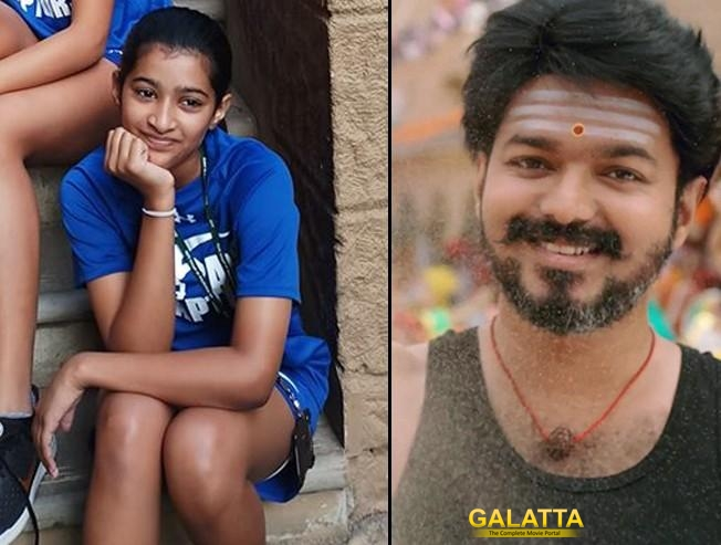 Vijay's daughter makes it to the top 3