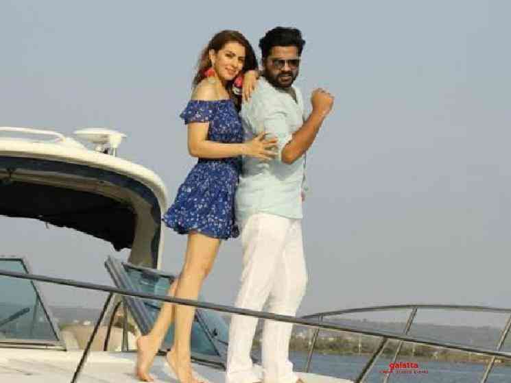 STR has only 5 more days shoot left for Hansika's Maha! - Tamil Cinema News