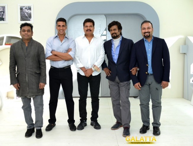 Superstar Rajinikanth Shankar 2 Point 0 Shoot in Delhi