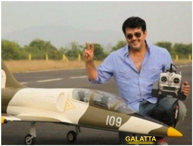 Ajith and his passion for aero-modelling