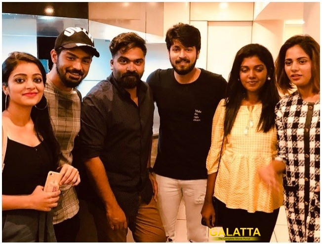 STR And Bigg Boss Stars' Night Out