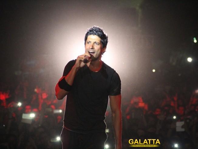 Farhan Akhtar Farhan Live At Saarang