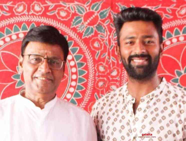 Father son duo K Bhagyaraj Shanthanu team up for a new film - Tamil Movie Cinema News