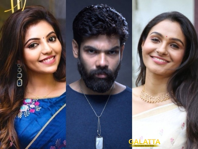 Athulya Ravi Andrea Jeremiah Sibiraj Film With Dream Warrior Pictures Kamalakannan