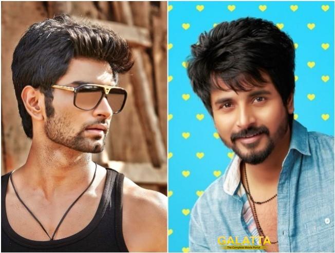 Atharvaa Next Film Titled Boomerang Megha Akash Sivakarthikeyan