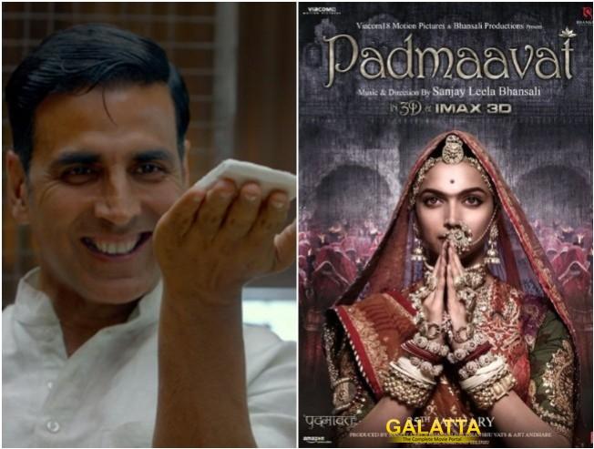 Akshay Kumar Pad Man Postponed And Makes Way For Padmaavat Padmavati