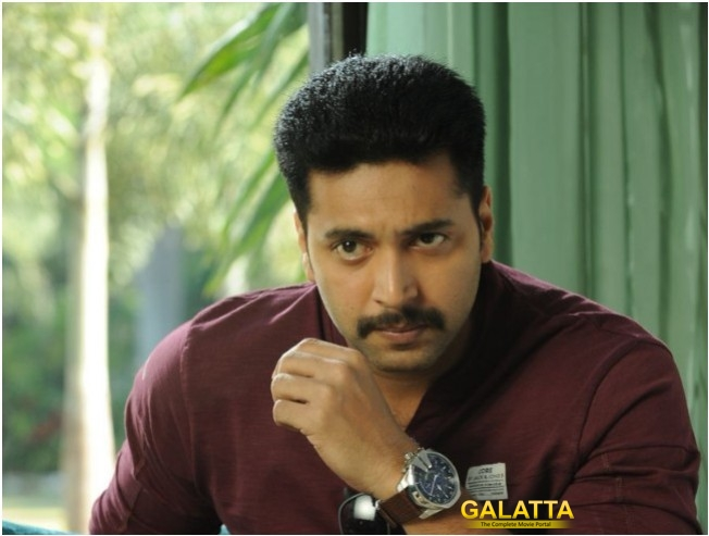 Jayam Ravi Sheds Light On Tik Tik Tik Release Plans
