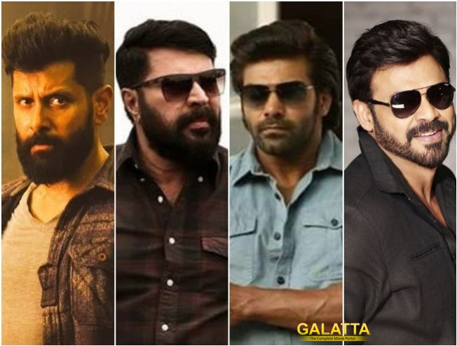 Vikram And Venkatesh For Mammootty Arya The Great Father Tamil Telugu Remake