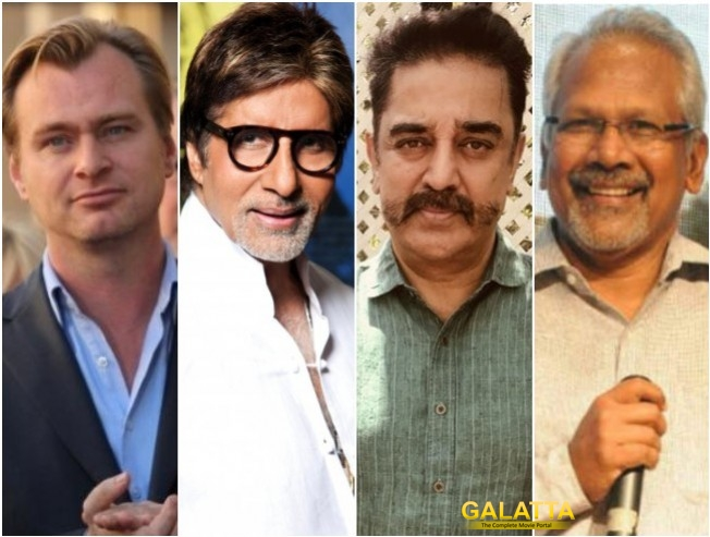 Christopher Nolan, Amitabh Bachchan, Kamal Haasan And Mani Ratnam On The Same Stage