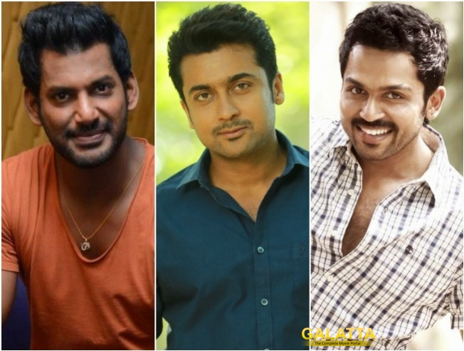 Suriya Karthi Vishal To Pay Their Assistant Salaries