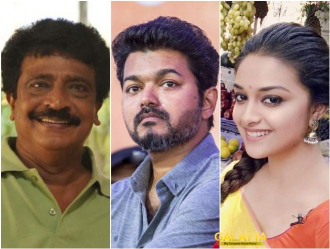 Livingston To Play Keerthy Suresh Father In Vijay Thalapathy 62
