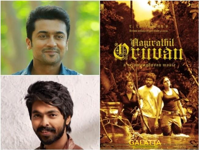 G V Prakash Kumar Draws Comparisons For Music In Suriya 38 To Aayirathil Oruvan