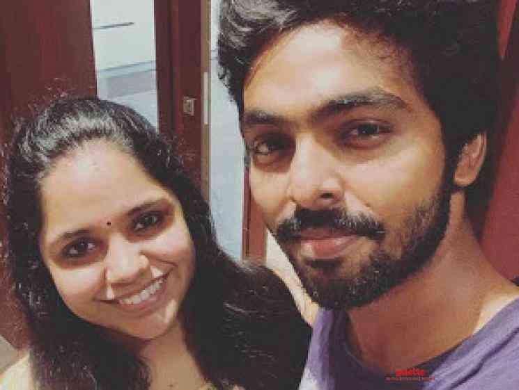 GV Prakash Saindhavi Blessed With A Girl Baby - Tamil Movie Cinema News