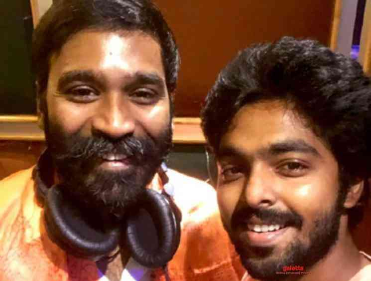 GV Prakash reveals Dhanush 43 will be a new age thriller - Tamil Movie Cinema News