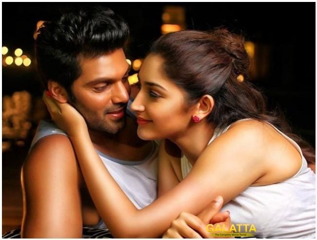 arya-sayyeshaa's ghajinikanth audio update - Tamil Movie Cinema News