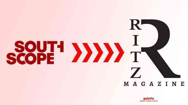 Southscope Magazine Becomes RITZ - Tamil Movie Cinema News