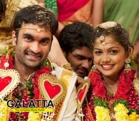 Brahmanandama's son Gautham weds Jyothsna