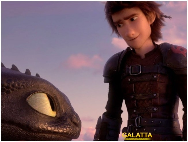 How to Train Your Dragon The Hidden World Clip Released HTTYD3