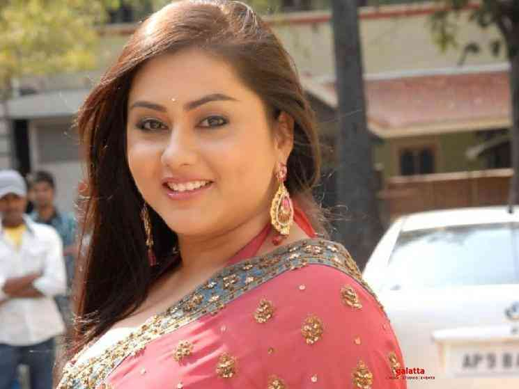 Namitha voices against caging animals and zoos - Tamil Movie Cinema News