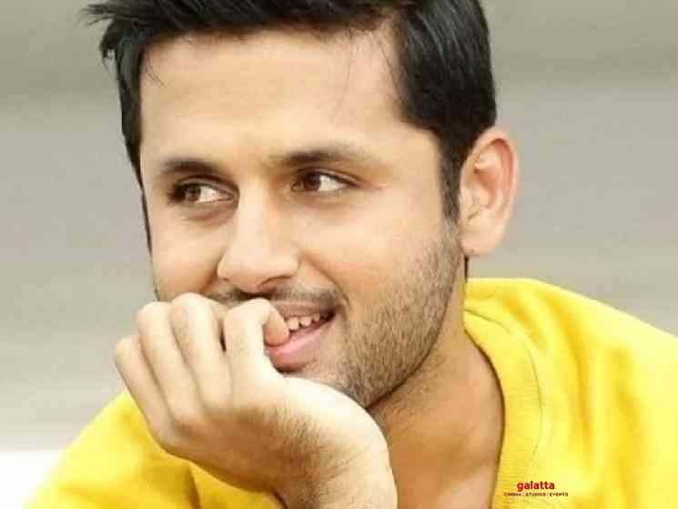 Nithiin donates 10 lakhs each to Andhra Pradesh and Telangana - Tamil Movie Cinema News