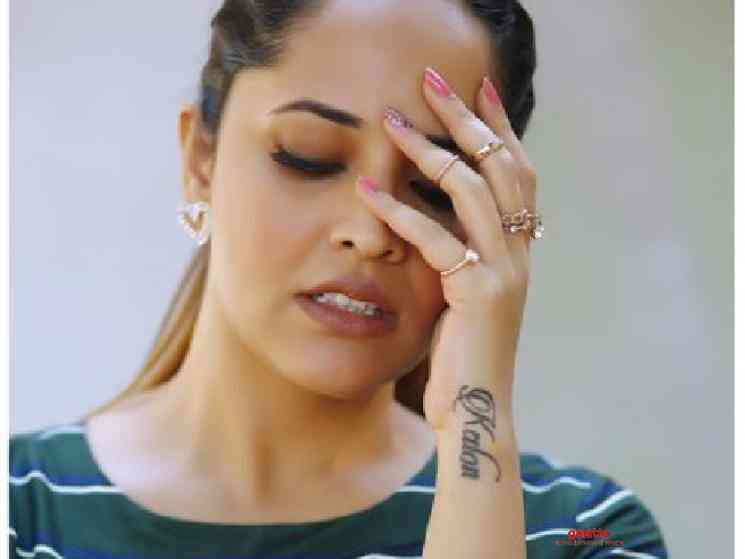 Anasuya Bharadwaj lodges complaint against Twitter bully - Tamil Movie Cinema News
