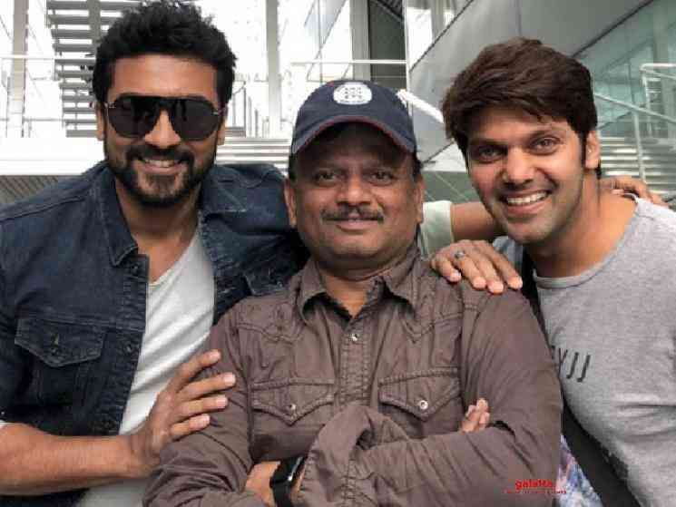 Suriya KV Anand Kaappaan style TN Govt decision Cauvery Delta - Tamil Movie Cinema News