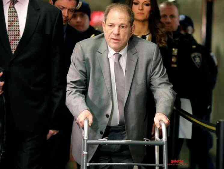 Harvey Weinstein tested positive for Coronavirus while in prison - Tamil Movie Cinema News