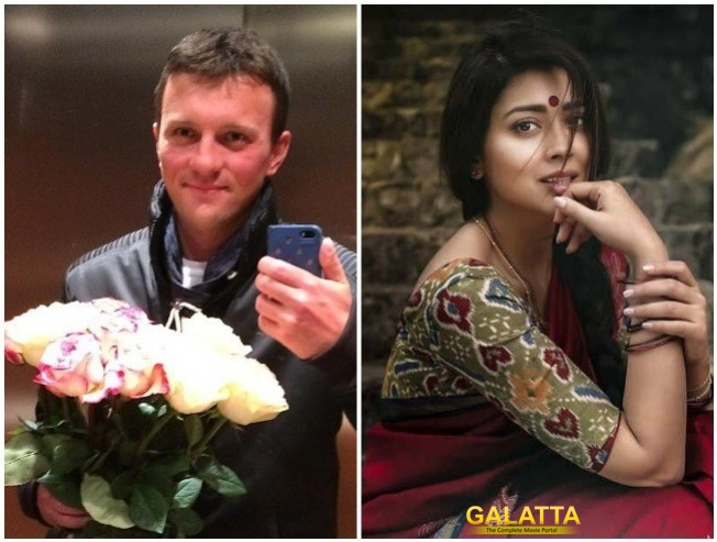 Shriya Saran Secretly Marries Russian Boyfriend Andrei Koscheev