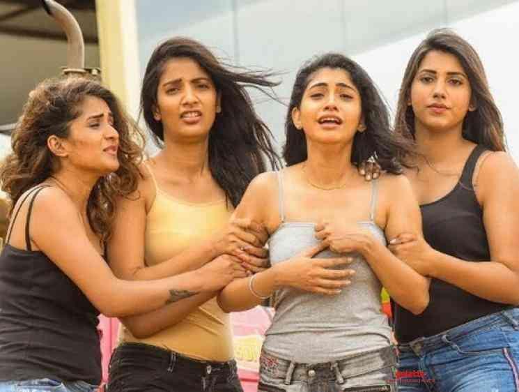 Rangoola Lokam Song Hi Five Amma Rajasekhar Radha - Tamil Movie Cinema News