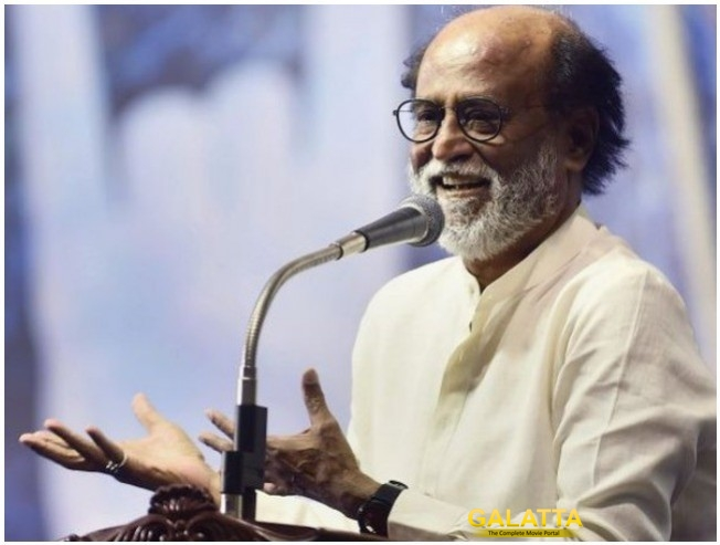 Rajinikanth Replies To Media Why He Avoids Answering Political Questions