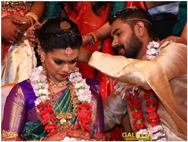 Actor Parthiepan Daughter Keerthan Parthiepan Weds Akshay Akkineni