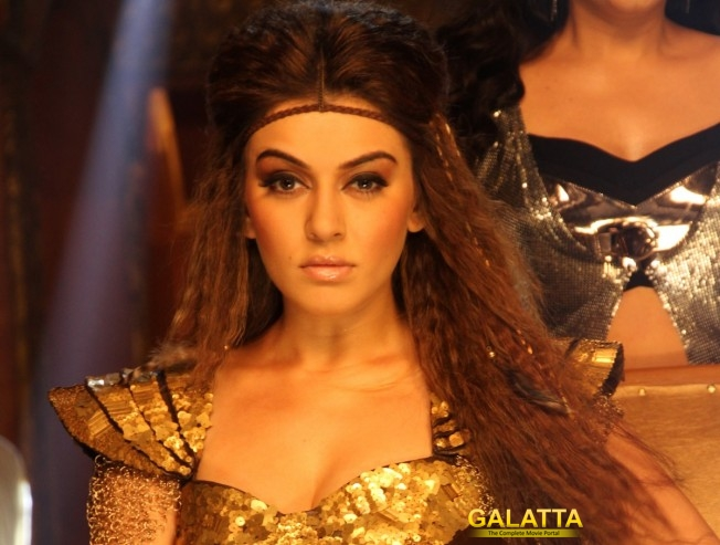 Hansika owns the Aranmanai series