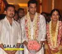 Kollywood Celebrities grace Arulnithi's Wedding