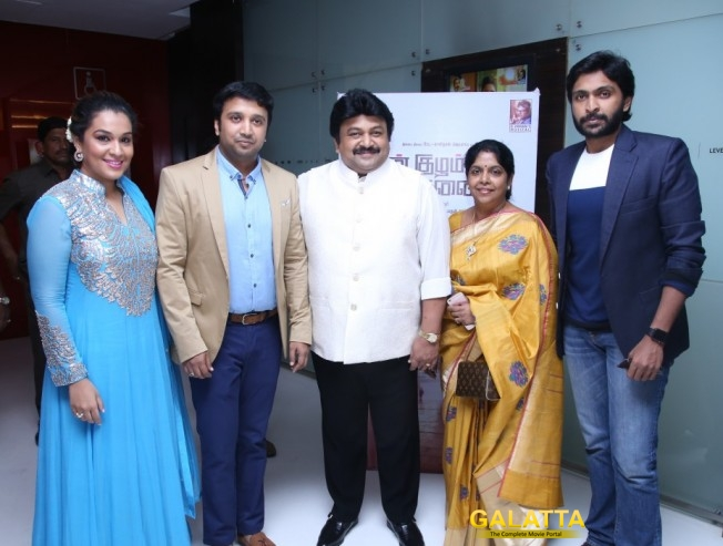 Vikram Prabhu wants to act with dad Prabhu