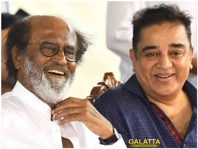 Rajinikanth And Kamal Haasan Meet Ahead of Political Journeys