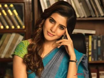 Samantha wraps up shoot for her next!