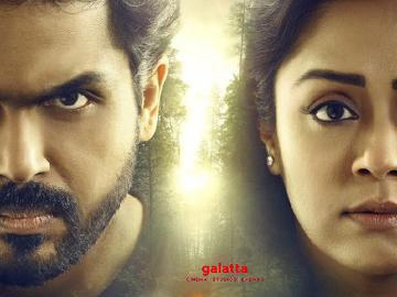 Two massive updates from Karthi and Jyothika's Thambi! Check it out... - Tamil Cinema News