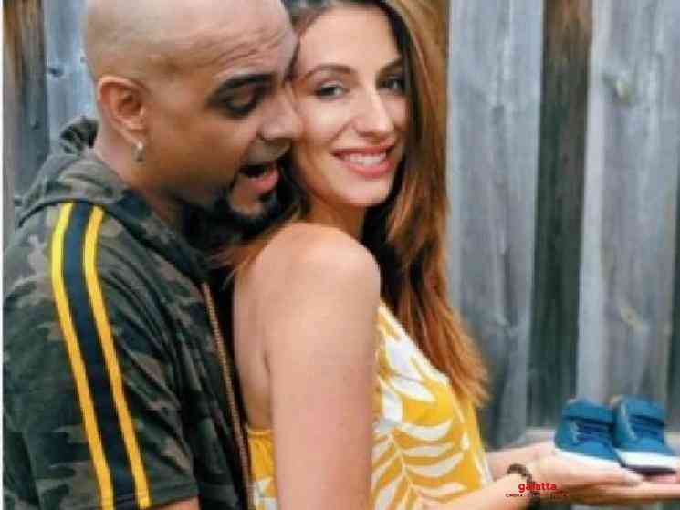 MTV fame Raghu Ram and wife Natalie Di Luccio welcome first child - Tamil Movie Cinema News