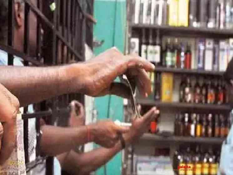 TASMAC wine shops get record sales on reopening in Tamil Nadu - Tamil Movie Cinema News