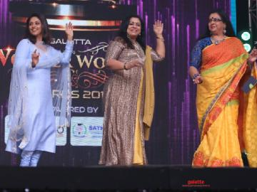 Poornima Bhagyaraj relives the 80's at the Galatta Wonder Women Awards!
